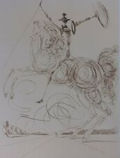Salvador Dalí: Don Quichotte - Lithography Numbered and Signed #500ex