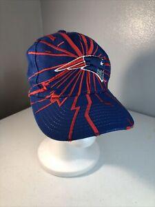 New England Patriots Vintage Collision STARTER Snapback Hat Shockwave