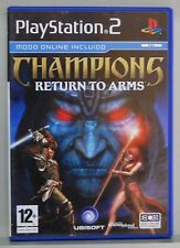 CHAMPIONS RETURN TO ARMS - PLAYSTATION 2 - ESPAÑA - COMPLETO