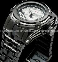 Invicta Men Bolt Legend Zeus Dragon Automatic NH35A Silver Black 53mm SS Watch