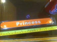 Princess Orange White Snap Bracelet High Quality Fold Plastic Wristband