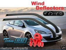 OPEL ASTRA IV GTC 3D 2010 HATCHBACK Wind deflectors 2.pcs  HEKO 25337