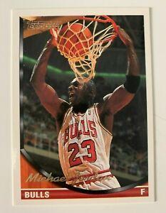 NBA MICHAEL JORDAN Chicago Bulls 1993 Topps Gold BDAY MISPRINT Trading CARD #23