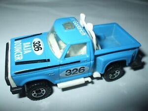 Matchbox Lesney Superfast #53 Flareside Pick Up in light blue with tampo MINT!