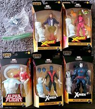 Marvel Legends X-Men X-Force Wendigo BAF COMPLETE Mr Sinister Nightcrawler Plus