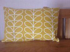 Handmade Cushion Cover utilisant Heavyweight Orla Kiely linéaire tige tissu 45 x 30 cm