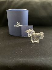 New ListingToy Horse Swarovski Collection Clear Crystal Figurine Brand New Free Shipping