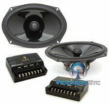 "DIAMOND AUDIO TX69V-XO 6""X9"" 70W RMS COMPONENT COAXIAL SPEAKERS CROSSOVERS NEW"