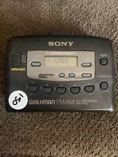 Refurbished Sony WM FX 405 personal AM FM radio cassette player walkman