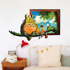 My Neighbor Totoro Mural Wall Stickers Decal  Kids  Room Removable Decor Gift