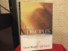 Daily Disciples : Growing Everyday as a Follower of Christ by Dave Wardell HC DJ