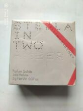 RARE Stella Mc Cartney STELLA IN TWO AMBER Parfum Solid 2gr , NEW in sealed box