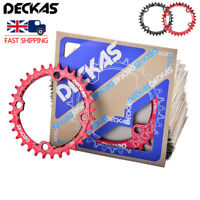 DECKAS 104BCD 32T 34T 36T 38T Chainring & Bolts MTB Bike Narrow Wide Sprocket