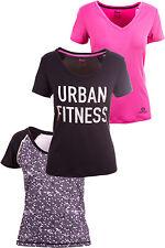 (R4) Damen Funktionsshirt Sportshirt Funktion Fitness Shirt T-Shirt Neu