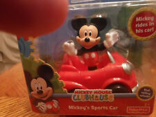 Disney Junior Mickey Mouse Sports Car by Fisher Price, 2+, New in Box