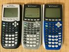 3Texas Instruments TI-84 Plus Graphing Calculator For Parts or Repair