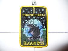 OA Itibapishe Iti Hollo Lodge 188, X-37?, 2013 Season Pass,Night Beaver,Patch,NC