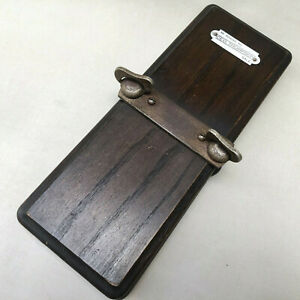 TRADITIONAL WOODEN TIE PRESS , MENSWEAR DAPPER VINTAGE CLOTHING ACCESSORIES