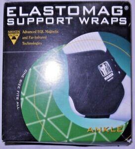 BNWT NIKKEN Elastomag Support Ankle Wrap
