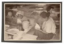 PHOTO Ceylan Sri Lanka Inde Singapour Malaisie Vietnam 1930 Poterie Pot Peinture
