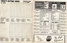 1958 Stan Musial 3000 Hit Program At Chicago Cubs Vs St Louis Cardinals Ex