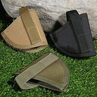 Universal Tactical Military Pistol Gun Handgun Holster Holder Safe Storage Pouch