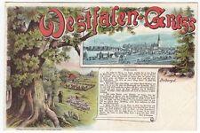 Normalformat Lithographien vor 1914 aus Nordrhein-Westfalen
