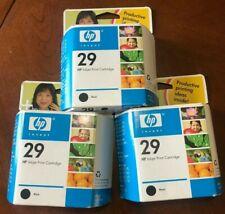 3x Genuine HP 29 Black Ink 51629A Deskjet 600c 660c 680c 690c 694c 695c 693c 670