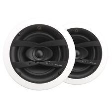 """Paire Q Install 6.5"""" QI65CW résistant aux intempéries En-Plafond IPX4 Rated Acoustique Haut-parleurs"""