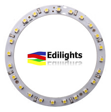 MODULO A CERCHIO 24 LED RING 90MM 24V LUCE VERDE GREEN