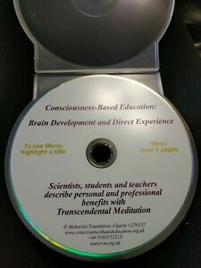 Consciousness-Based Education: Brain Development & Direct Experience. TM.