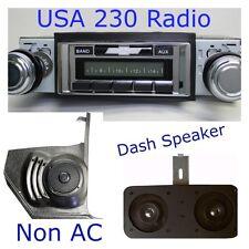 1966 66 Chevelle El Camino USA 230 Radio + Dash Speaker + Kick Panels