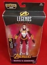 MARVEL LEGENDS MARVEL'S SONGBIRD Avengers Infinity War THANOS Build Figure E1389