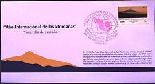 Mexico 2002 FDC International Day Mountain UNO FAO Brazil 1992 Nature XF Cond