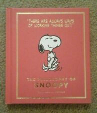 The Philosophy of Snoopy book. Peanuts.There are always ways of working ..Schulz