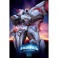 Blizzcon 2019 Mecha Tyrael Heroes Of The Storm Poster Print Art Artwork 27x40