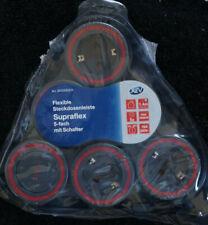 REV Flexible Steckdosenleiste Supraflex 5-Fach mit Schalter