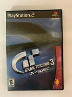Gran Turismo A Spec Play Station 2 Used Game A07