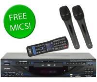 VocoPro DVX-890K PRO DIGITAL KARAOKE PLAYER MULTI-FORMT CD+G, USB, SD, DVD, HDMI