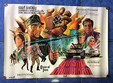 CROSS OF IRON original Thai movie poster 1977
