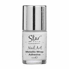 Star Nails METALLICO Wrap Adesivo 14ml NAIL ART FORNITURE Artist MANICURE KIT