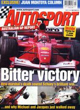 Autosport 8 Mar 2001 Australian Grand Prix ALMS Round 1