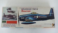 HAWK   GRUMMAN  F8F-2   BEARCAT   C.1967 BY HAWK   TRES BON ETAT  VINTAGE