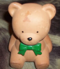 Ceramic  Teddy bear  bank save your change piggy bank fine quality lego