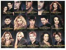 Twilight Breaking Dawn Part 2  SDCC 15 Card PROMO SET