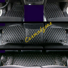 7seats Right Handle Car Leather Car Floor Mat Carpet for Nissan Patrol Y62 10-18