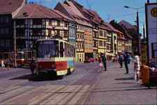 metal sign 542043 tatra kt4d articulated cars erfurt eastern germany a4 12x8 alu