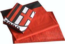 Completo letto singolo cotone squadre Milan ufficiale