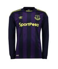 New Umbro 2017/18 Adult Everton FC 3rd Away Shirt Top Jersey Long Sleeve XLarge