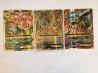 MEGA Venusaur Charizard Blastoise EX FULL ART 100-2/108 NM Pokemon Xy Evolutions